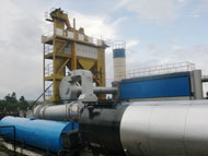 SAP120 asphalt batch plant in Philippine